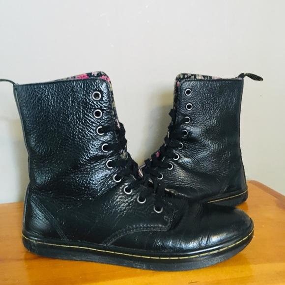 🌸 Dr. Martin Stratford black leather boots